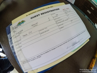 Registration upon check in in required for every room.