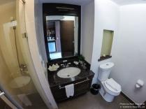 Clean restroom