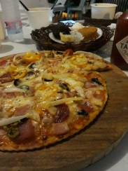 Pizza from Sabie Bakes!