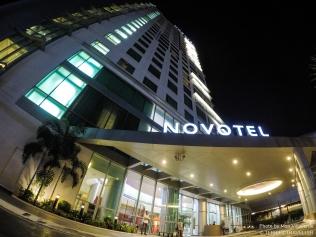 Novotel Exterior Evening