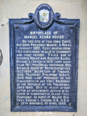 Birthplace of Manuel A. Roxas, Roxas City