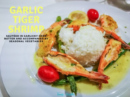 Garlic Tiger Shrimp