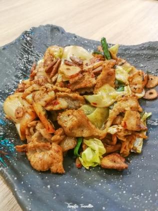 Kimchi and Pork Teppan