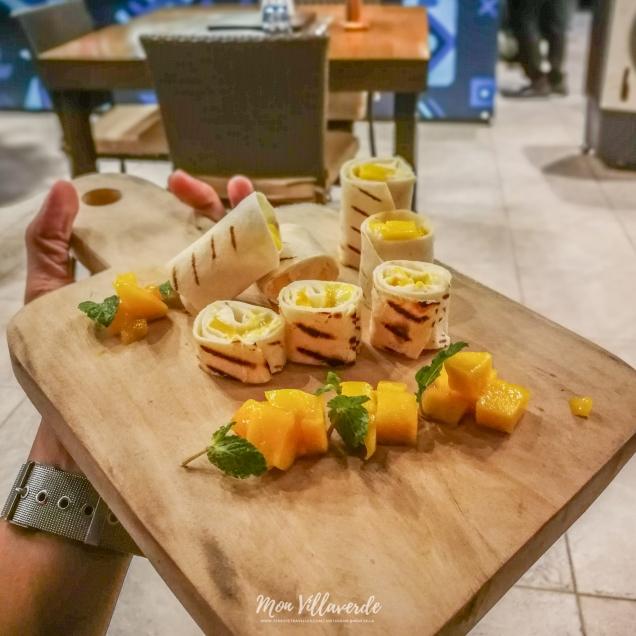 Mango Cheesecake Flautas